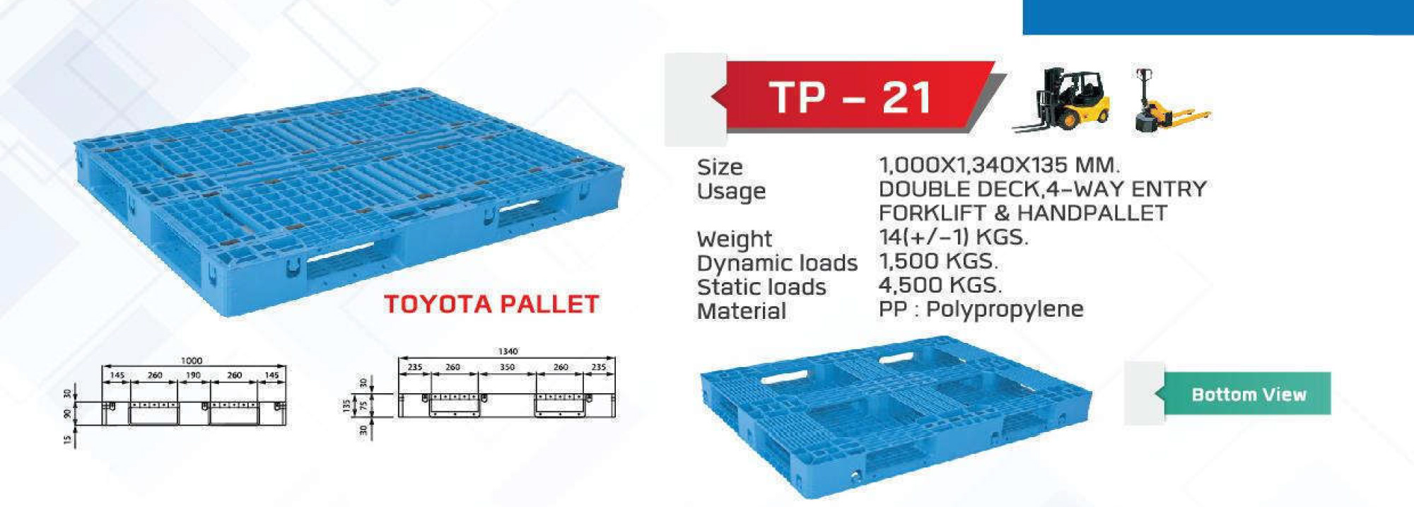 Light-Weight-pallet-TP-21