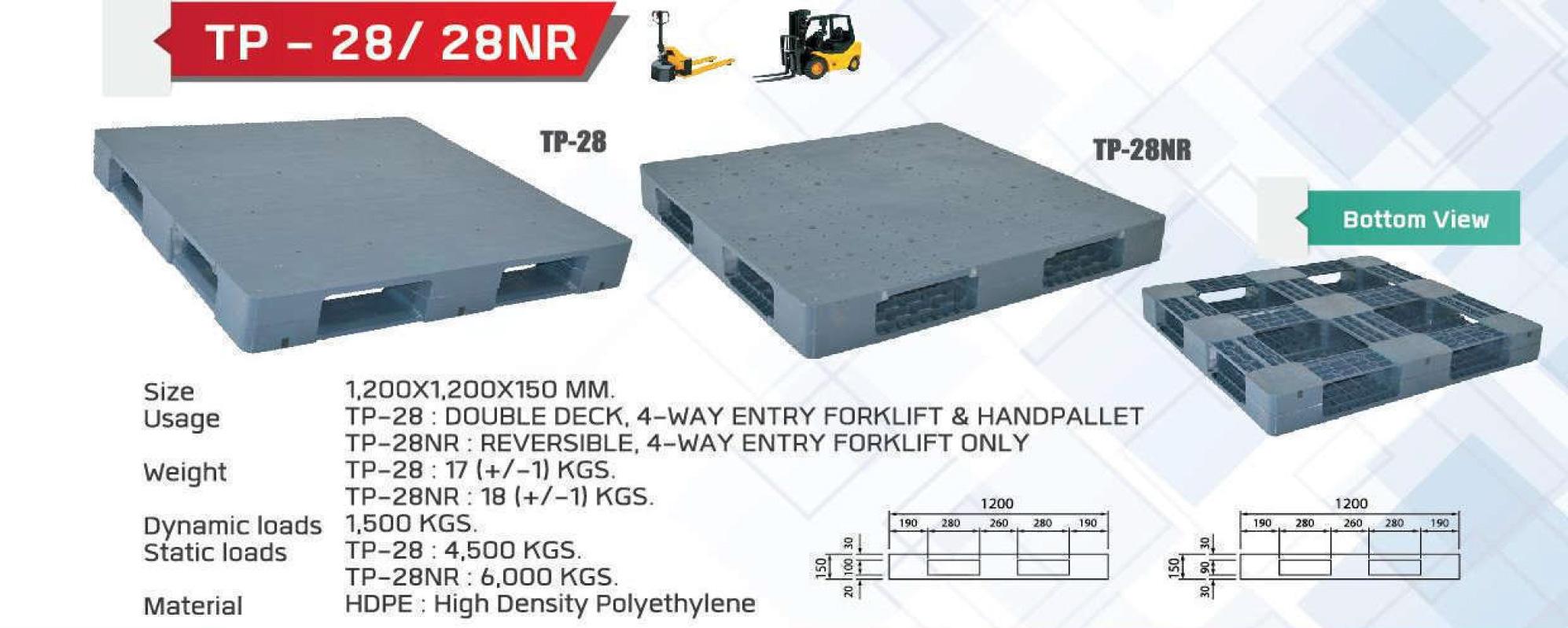 Light-Weight-pallet-TP-28-28NR