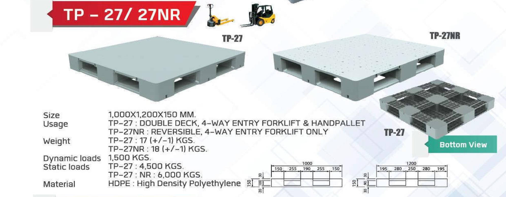 Light-Weight-pallet-TP27-27NR